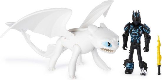 Afbeelding van Hoe Tem Je een Draak 3 Hikkie & Lightfury - Actiefiguur speelgoed