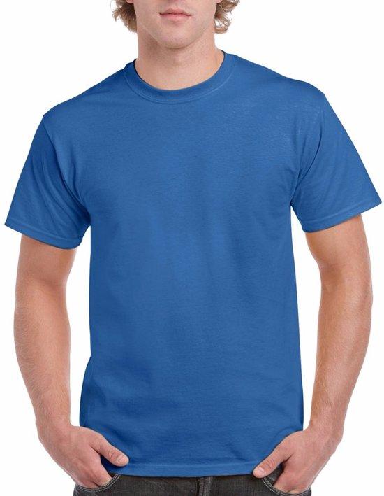 Kobaltblauw katoenen shirt voor volwassenen L (40/52)