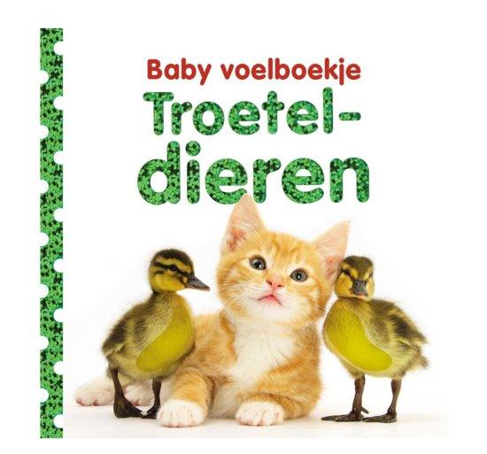 Baby voelboekje Troeteldieren