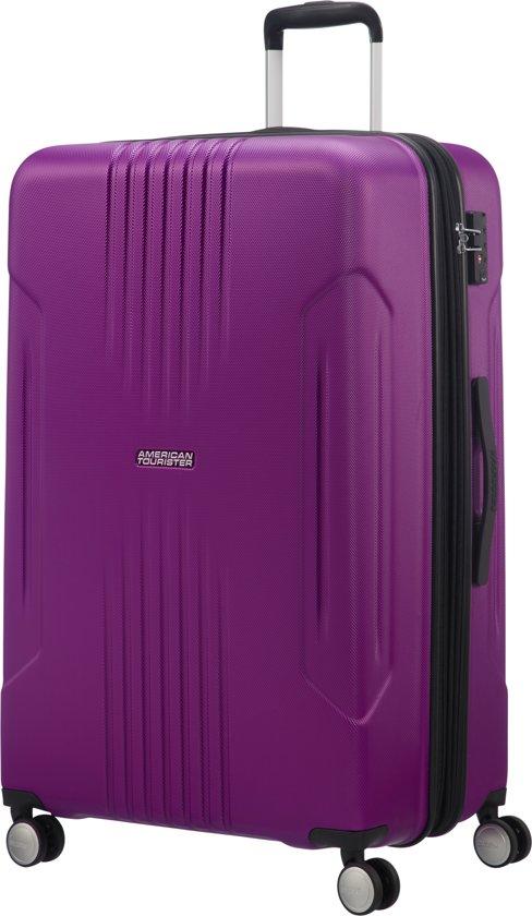 81682fcf752 American Tourister Reiskoffer - Tracklite Spinner 78/29 Uitbreidbaar Tsa  (Large) Purple