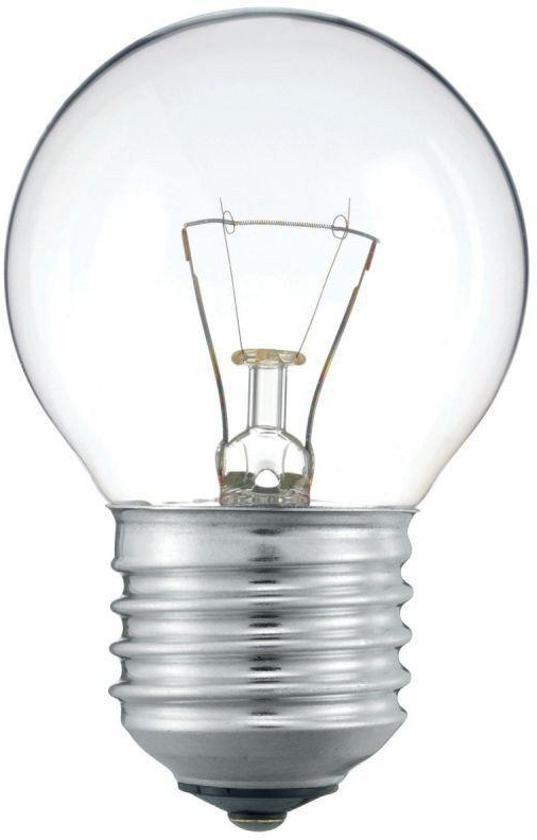 Kogellamp Gloeilamp 40 Watt Helder E27 (10 stuks)