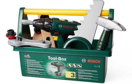 Afbeelding van Bosch Speelgoed Gereedschapsbox met Accessoires speelgoed