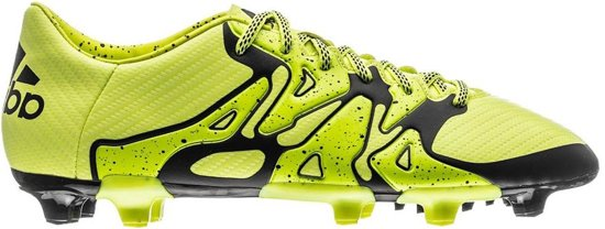 Chaussures De Football Adidas X 15,3 Fg Ag Jaune Taille Hommes 41 1/3