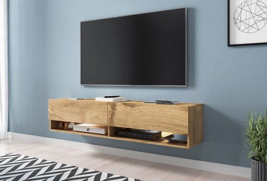 Tv Kast Hangend : Bol tv meubel tv dressoir wander hangend cm breed bruin