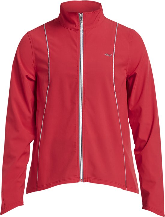 Röhnisch Run Jacket Hardloopjas Dames - Red - Maat M