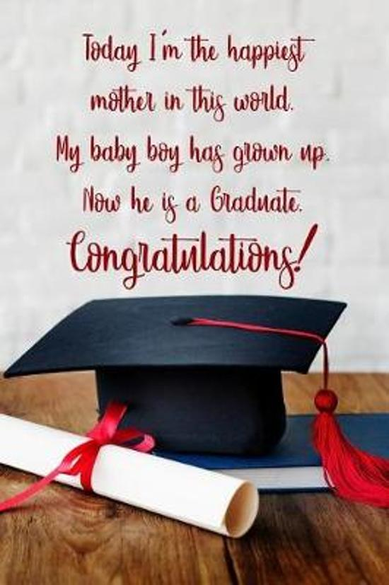 Today I'm the happiest mother in this world. My baby boy has grown up. Now he is a graduate.