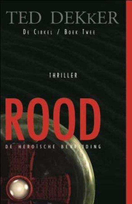 Boek cover ROOD van Ted Dekker (Paperback)