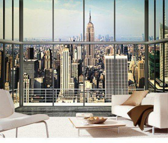 Foto Behang New York.Bol Com Creative Behang New York City View Fotobehang