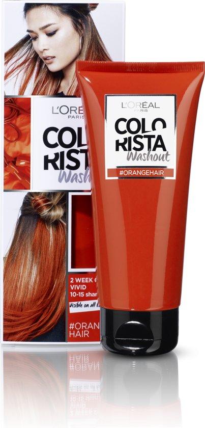 L'Oréal Paris Colorista Washout Haarverf - Oranje - 1 Tot 2 Weken Kleuring