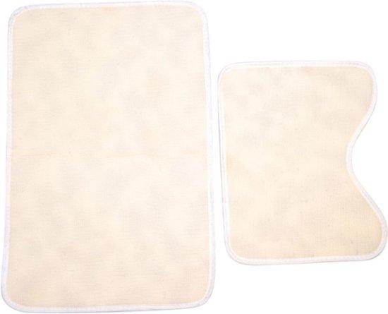 ᐅ • Antislip Badmat & WC Mat Set - Badkamer / Douche & Toiletmat ...