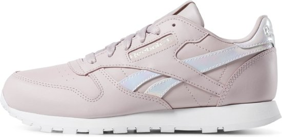 Reebok Classic Leather Dames Sneakers Ashen LilacWhite Maat