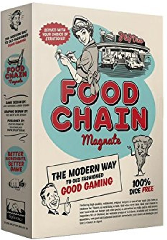 Food Chain Magnate Bordspel