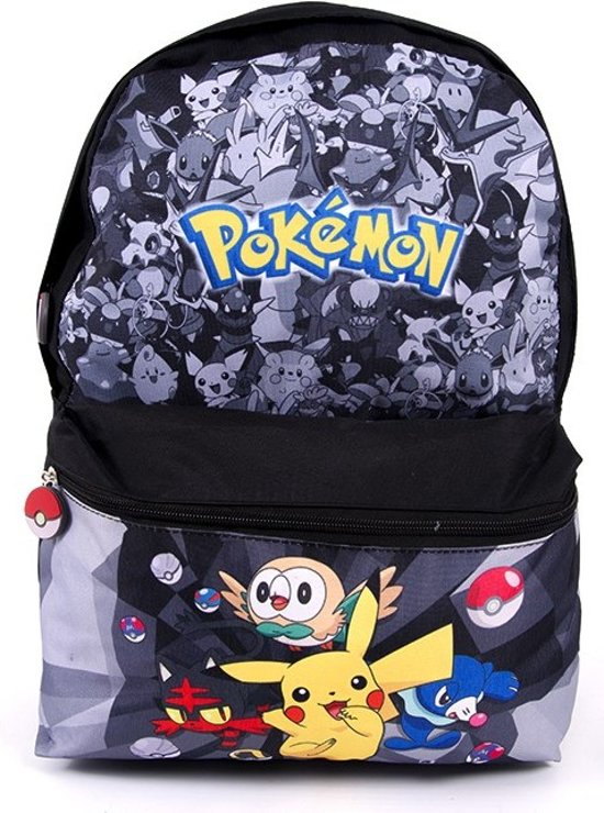 POKÉMON Pikachu Rugzak Rugtas School Tas 6-12 Jaar Pokemon