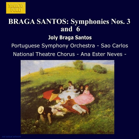 Braga Santos: Sym. Nos.3 & 6
