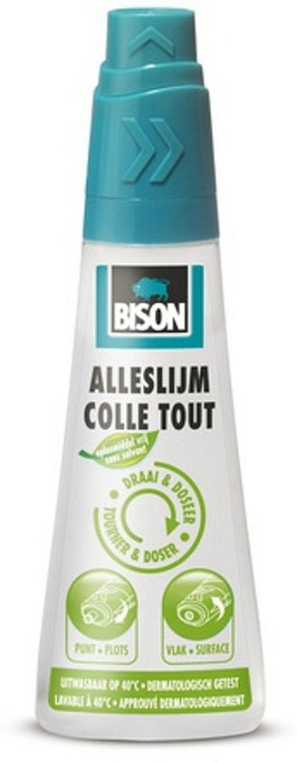 Bison alleslijm 90 ml