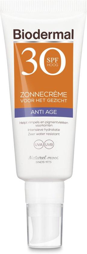 Biodermal Zon - Anti Age Zonnecrème voor het gezicht - SPF 30 - 40ml