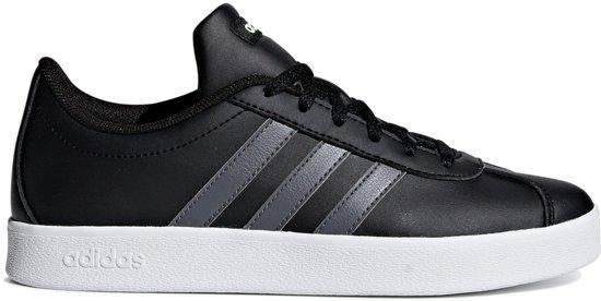 adidas VL Court 2.0 Kids Schoenen zwart 36.5