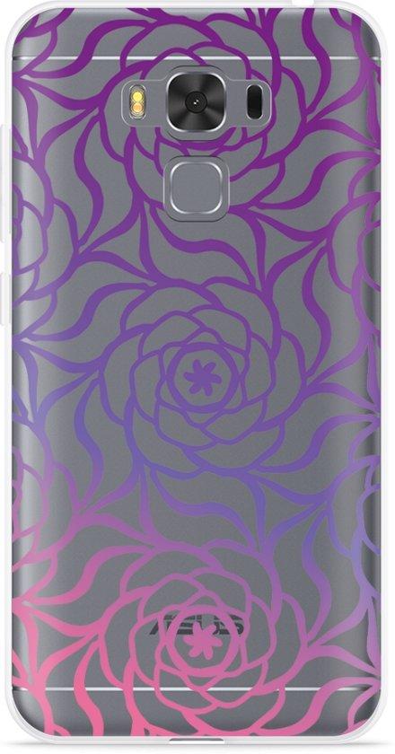 Asus Zenfone 3 Max 5.5 inch ZC553KL Hoesje Roses in Westernijtjerk / Westernijtsjerk