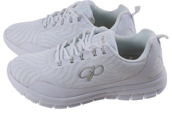 Dames Athleisure Papillon Mesh Sneakers 39 Wit Maat CECqt7wa