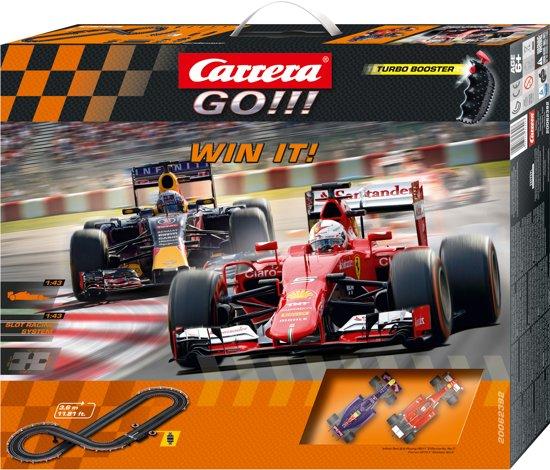 Carrera GO!!! Win It! - Racebaan