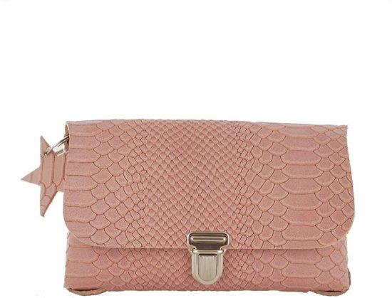 Napsoe - Festivalbag S - Snake - old pink