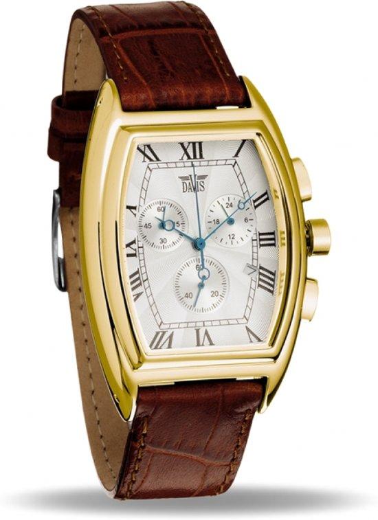 Davis 0031 Analoog Heren Quartz horloge