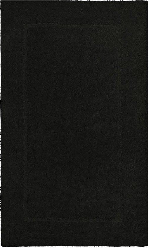 Aquanova Accent - Badmat - 70x120 cm - Zwart