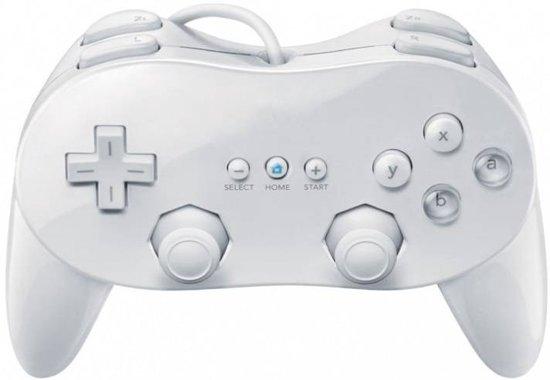 Classic Controller Pro Wit voor Nintendo Wii kopen