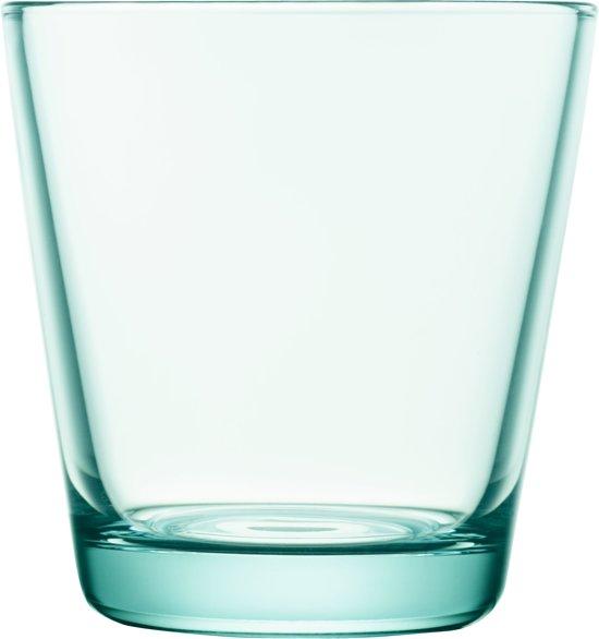 Iittala Kartio Glas - 21 cl - Watergroen - 2 stuks