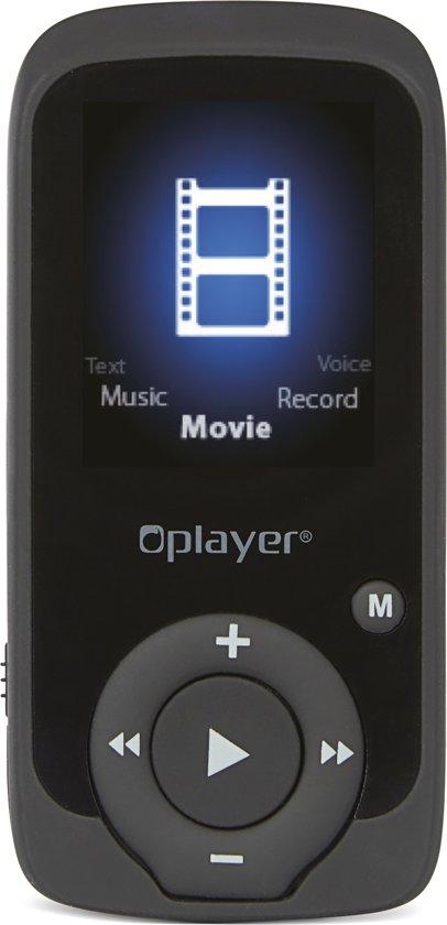 NIKKEI NMP4BKBT 8GB Digitale Audio-speler met Bluetooth, Radio, Pedometer, JPEG picture browsing en AMV video