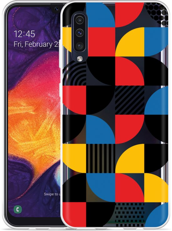Galaxy A30s Hoesje Abstract Pattern