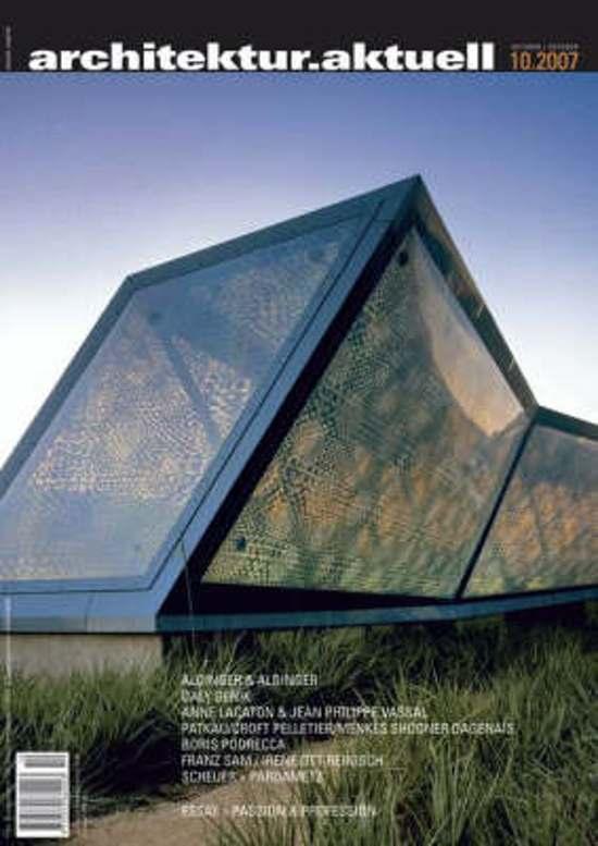 Cover van het boek 'architektur.aktuell 331, 10/2007'