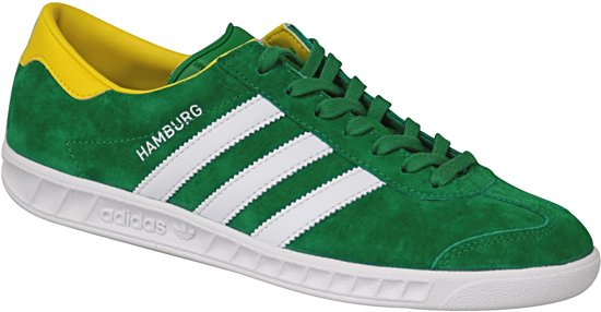 low priced f25d7 b1b21 Adidas Hamburg BB5299, Mannen, Groen, Sneakers maat 44 23 EU