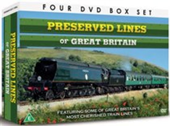 Preserved Lines Grt Britain Gift Set Dvd