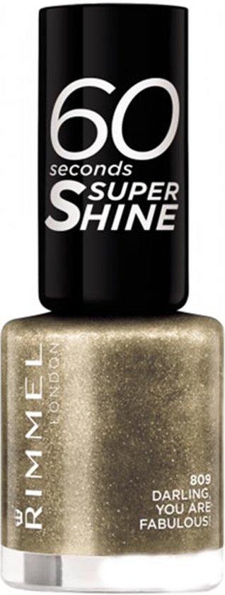 Rimmel London 60 seconds supershine Nagellak - 809 Darling, You Are Fabulous!