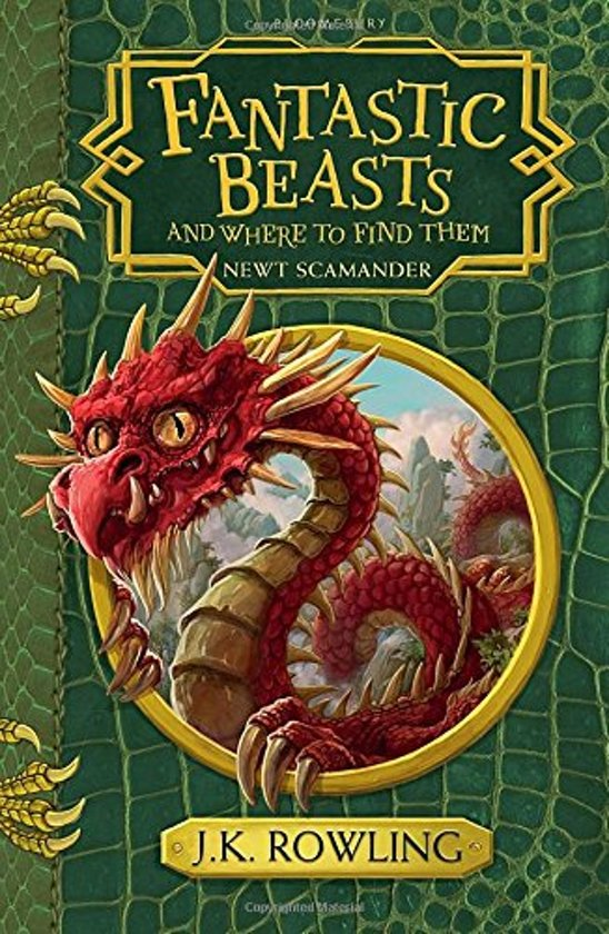Boek cover Fantastic Beasts and Where to Find Them van J.K. Rowling (Paperback)