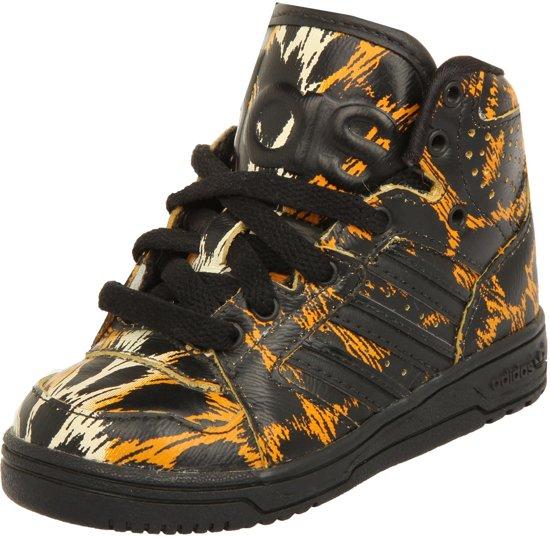 b7079204907 adidas adidas Jeremy Scott Kids Sneaker JS INSTINCT HI LEOPARD I Schwarz/Orange  D65986
