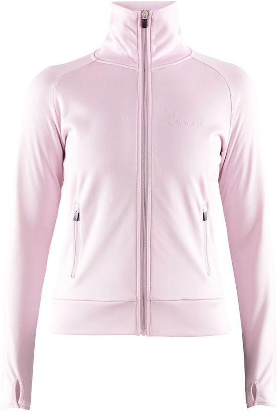 Craft Breakaway Jersey Jacket Dames - Misty - Maat M