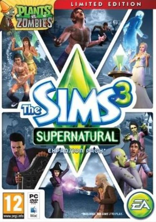 De Sims 3: Bovennatuurlijk - Limited Edition - Windows
