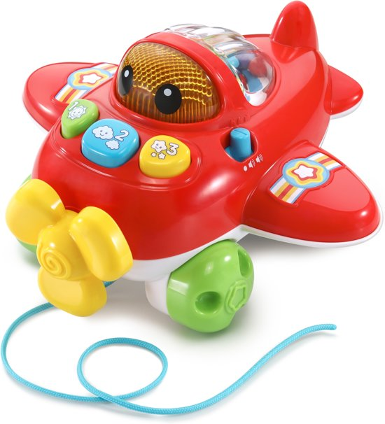 VTech Baby Avonturen Vliegtuig - Speelfiguur