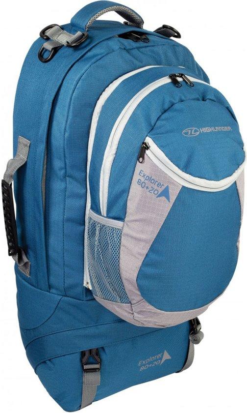 fe0a8c84a49 bol.com   Highlander Explorer - Backpack - 80 Liter - Blauw