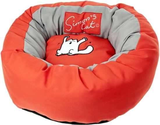 Simons cat bed rood 46x17 cm