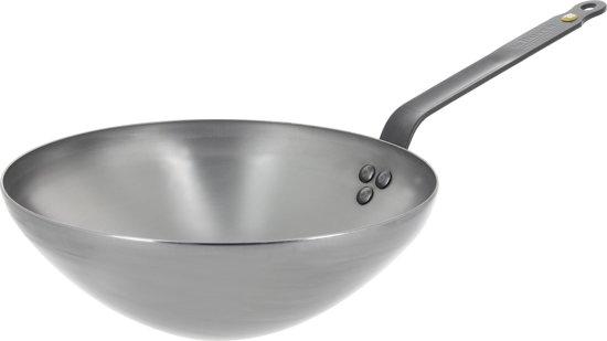 deBuyer Mineral B wok 28cm - staal