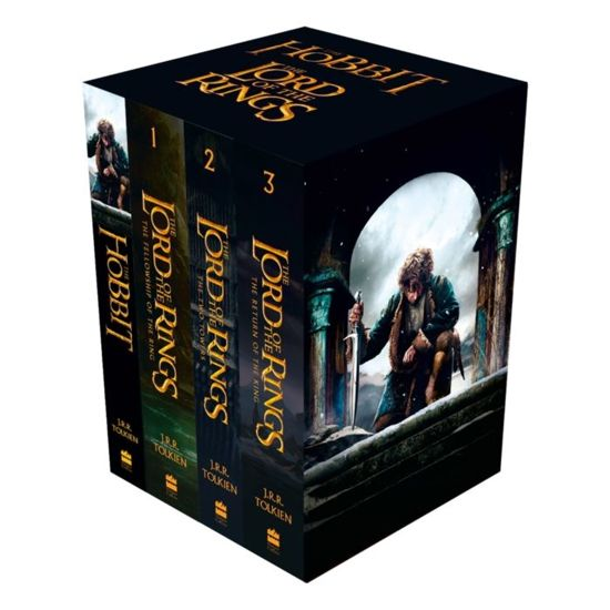 Boek cover The Hobbit and The Lord of the Rings (1-3) boxset van J.R.R. Tolkien (Onbekend)