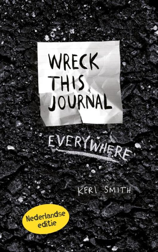 Boek cover Wreck this journal everywhere van Keri Smith (Onbekend)