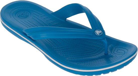 987612354c3c79 Crocs Crocband Flip Slippers - Maat 42 43 - Unisex - blauw