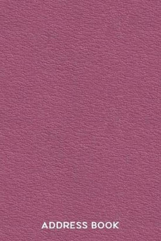 Address Book for Office: Telephone and Address Listing for Business, Work & Personal Use - Minimalist Maroon