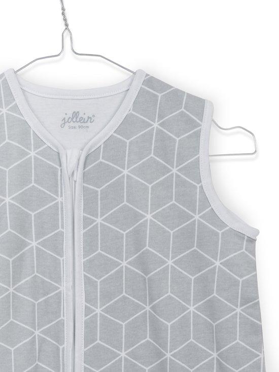 Jollein Graphic slaapzak zomer 90cm jersey grijs