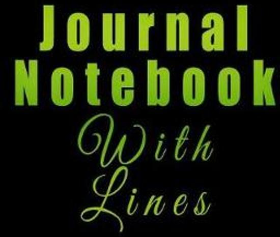 Journal Notebook with Lines