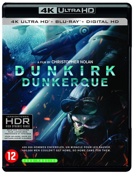 DVD cover van Dunkirk (4K Ultra HD Blu-ray)